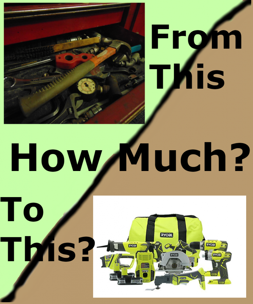 Upgrade your old work tools for new power tool. From www.ladiestoolkit.com